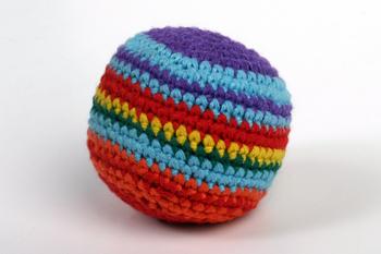 Crochet Footbag Hacky Sack Called2servecom